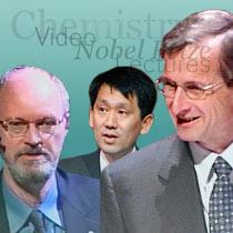 Collage: Robert H. Grubbs, Koichi Tanaka and Richard R. Schrock