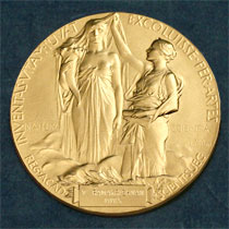 The Nobel Medal for Physics and Chemistry. Registered trademark of the Nobel Foundation. © ® The Nobel Foundation