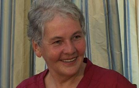 Christiane Nüsslein-Volhard during the interview