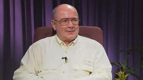 Johann Deisenhofer during the interview