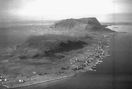 Haramsøy, where I lived the first year of my life.