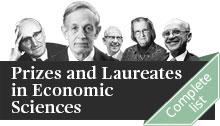 Collage of Prize in Economic Sciences Laureates