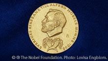 The Medal for The Sveriges Riksbank Prize in Economic Sciences in Memory of Alfred Nobel. Registered trademark of the Nobel Foundation. © ® The Nobel Foundation. Photo: Lovisa Engblom