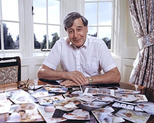 Robert Edwards at his desk