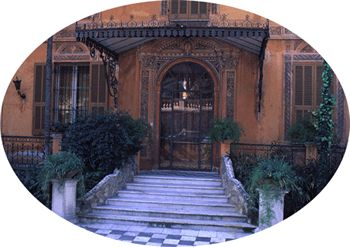 Entrance to Villa Nobel.