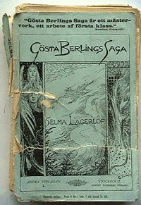 The book Gösta Berlings Saga.