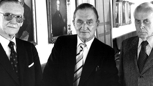 Bergström, Theorell and Granit