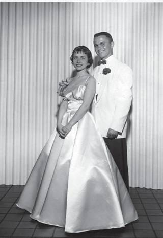 Eugene Fama's high school prom picture