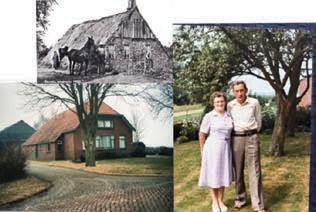 The farmhouse of my grandparents around 1900