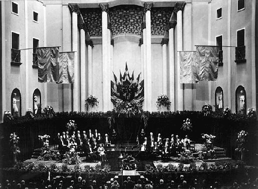 The 1938 Nobel Prize Award Ceremony