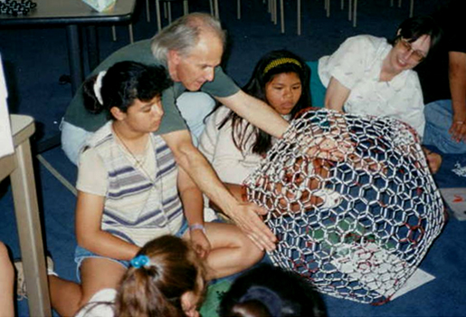 Buckyball workshop for small children in the US