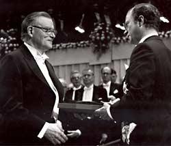 Buchanan and King Carl Gustaf