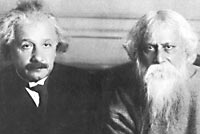Tagore and Einstein.