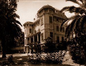 Villa Nobel in San Remo, Italy.