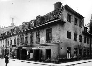 Nobel home in Stockholm
