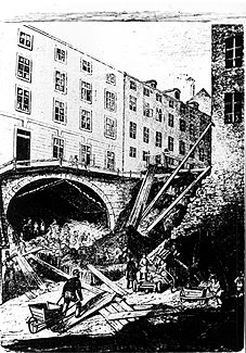 The Söder tunnel in Stockholm was built with help of Alfred Nobel's blasting oil.