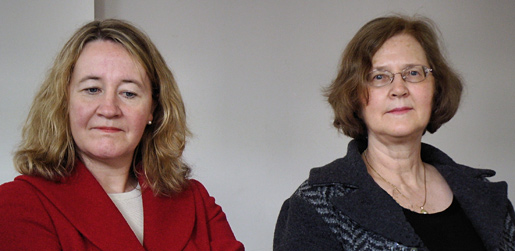 Carol W. Greider and Elizabeth H. Blackburn
