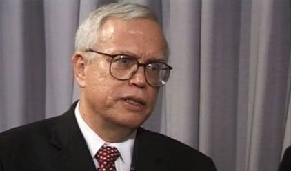 James J. Heckman during the interview with Nobelprize.org