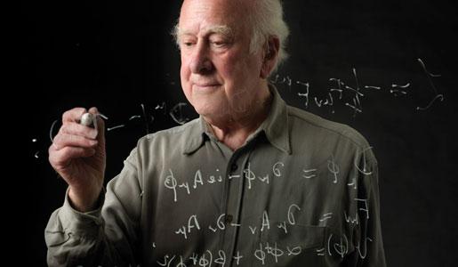 Portrait of Peter Higgs