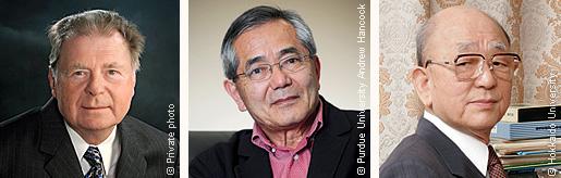 Richard F. Heck, Ei-ichi Negishi and Akira Suzuki