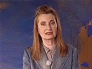 Elfriede Jelinek delivering her Nobel Lecture