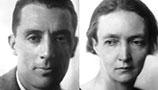 Frédéric Joliot and Irène Joliot-Curie.