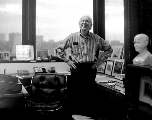 Eric R. Kandel in his office.