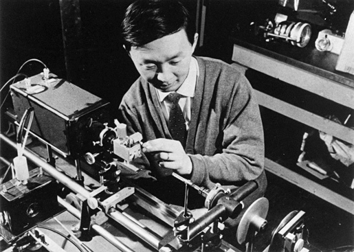 The young scientist Charles Kao