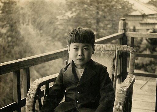 Makoto Kobayashi as a child