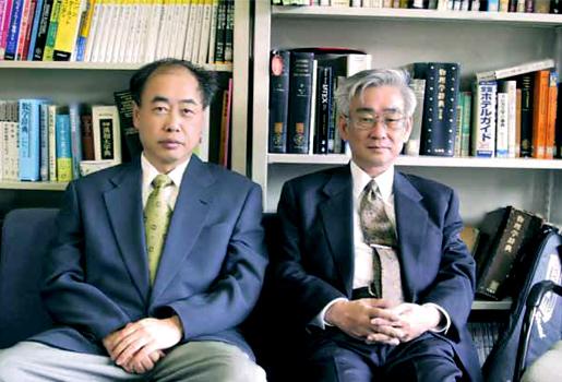 Kobayashi and Maskawa