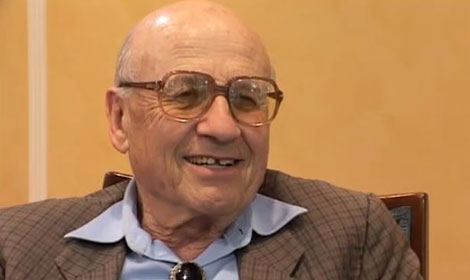 Walter Kohn during the interview