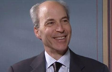 Roger D. Kornberg during the interview