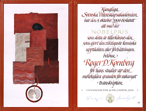 Nobel diploma