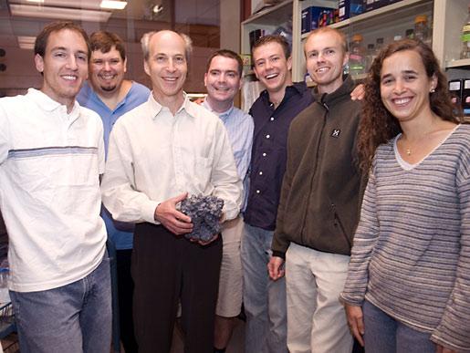 Kornberg and lab team