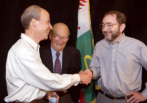 Three Nobel Laureates