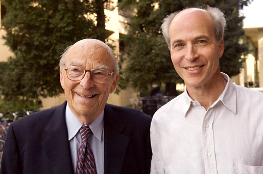 Arthur and Roger Kornberg