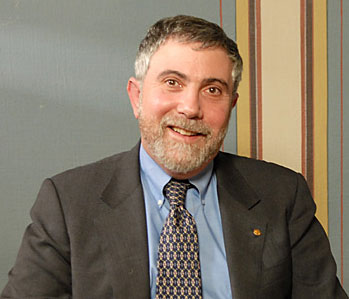 Paul Krugman during the interview