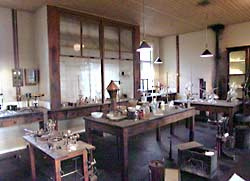 Alfred Nobel's laboratory in Bofors, Sweden.