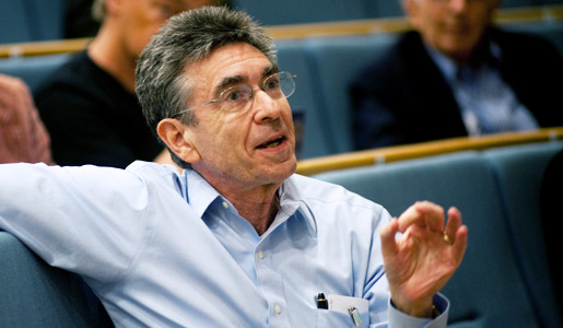 Robert J. Lefkowitz taking part in the Nobel Symposium '3M: Machines, Molecules and Mind' in Stockholm, Sweden, May 2011.