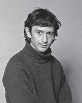 Michael Levitt's official photograph taken by Ken Harvey at the MRC Laboratory of Molecular Biology in 1968 or 1969. He was then 21.