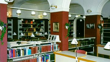 Norwegian Nobel Institute library