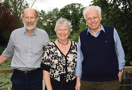 Frank Fitzjohn, Brenda Marriott and Tomas Lindahl.