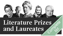Collage of Literature Laureates