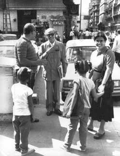Mahfouz in Cairo