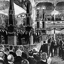 1901 Nobel Prize Award Ceremony