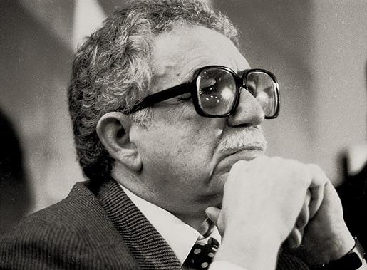 Portrait of Gabriel García Márquez