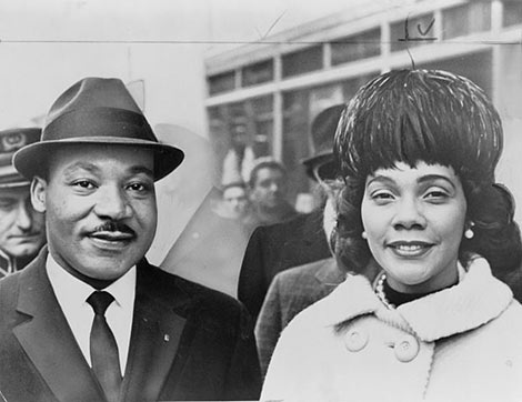 Martin Luther King, Jr. and Coretta Scott King. Photo Herman Hiller/New York World-Telegram & Sun [Public domain], via Wikimedia Commons