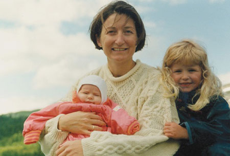 Isabel, Ailin and me in 1995, half a year before Edvard and I defended our PhD theses.