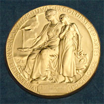 The Nobel Medal for Physiology or Medicine. Registered trademark of the Nobel Foundation. © ® The Nobel Foundation