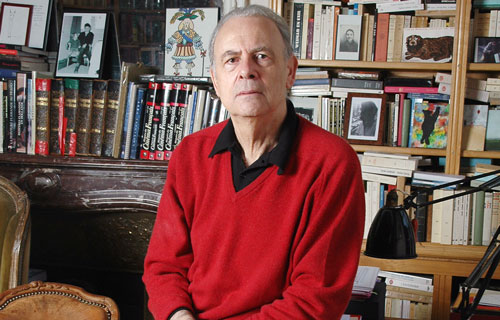 Patrick Modiano. Photo: Catherine Hélie. Courtesy Editions Gallimard